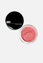 MSLONDON - Mineralized powder blush - fuchsia pop