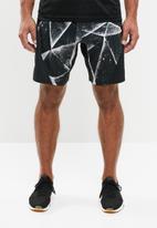 Reebok - Epic Ltvt cracked ice shorts - black