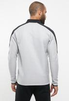 Reebok - Spacer track jacket - grey & black