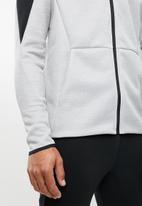 Reebok - Spacer track jacket - grey & black