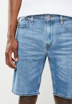 Levi's® - 502 taper hemmed billy shorts - blue