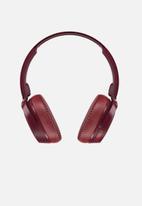 Skullcandy - Riff wireless headphones - burgundy