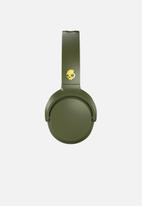 Skullcandy - Riff wireless headphones - khaki & yellow