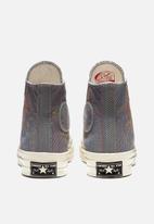 Converse - Chuck 70 rainbow - black/cool grey/egret
