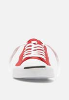 Converse - Jack Purcell twill - enamel red/white/black