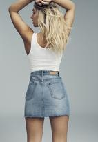 Cotton On - The classic denim skirt - blue