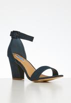 Madison® - Denim ankle strap heel - blue