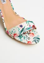 Madison® - Floral ankle strap heel - multi