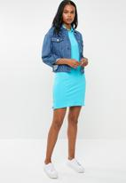 POLO - Kathy stretch golfer dress - blue