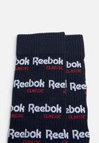 Reebok Classic - CL graphic crew socks - multi