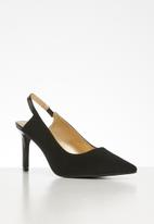 Superbalist - Tara court heel - black