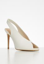 Superbalist - Robyn high vanp heel - white