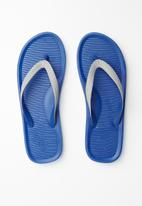 Call It Spring - Groeneweg flip flop - grey & blue