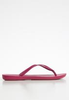 Ipanema - Wave fem rubber thong -  pink