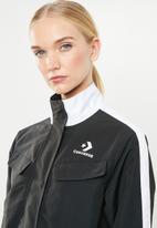 Converse - Converse woven warm-up jacket - black