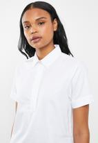 POLO - Sarah short sleeve shirt - white