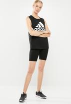 adidas - MH boss tank top - black