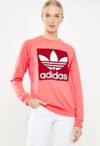 adidas Originals - Trefoil sweatshirt - neon pink