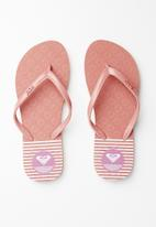 Roxy - Rg viva stamp - dirty pink