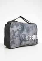 Reebok - Training essentials grip bag - black & grey