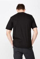 Cotton On - Cooked tbar short sleeve  tee - black