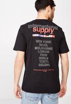 Cotton On - International supply tbar tee - black