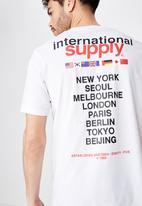 Cotton On - International supply tbar tee - white