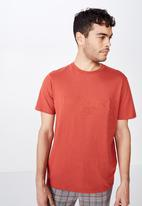Cotton On - Brooklyn us tee - red