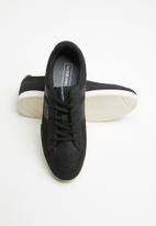 Jack & Jones - Byson mesh mix sneaker - black