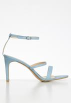 Superbalist - Keri strappy heels - blue
