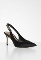 Call It Spring - Slingback stiletto heel - black