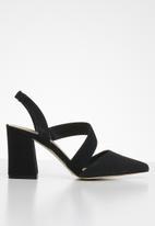 Call It Spring - Cailen heel - black