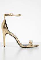 Call It Spring - Bombshell heel - gold