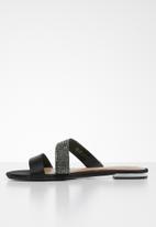 Call It Spring - Teivia sandal - black textile