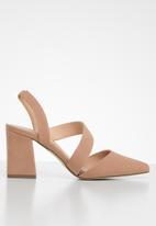 Call It Spring - Cailen assymetric heel - dirty pink