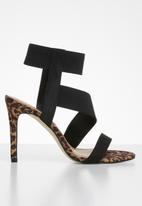 Call It Spring - Leopard print stiletto heel - brown & black