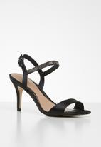 Call It Spring - Emerald heel - black