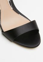 Call It Spring - Emerald stiletto heel - black