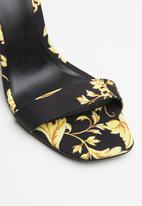 Call It Spring - Bombshell heel - black & yellow