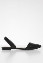 Call It Spring - Pippen slingback ballerina - black