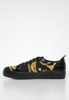 Call It Spring - Setigera flatform sneaker - black & yellow