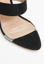 Call It Spring - Faux leather stiletto mule - black
