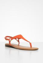 ALDO - Elubrylla leather sandal - orange