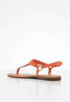ALDO - Elubrylla leather sandal - orange