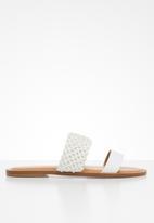 ALDO - Eowenassa sandal - white