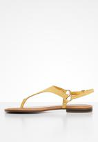 ALDO - Elubrylla leather sandal - mustard