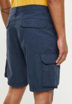 Brave Soul - Riverwop Cargo shorts - navy