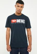 Diesel  - T-just-division T-shirt - navy
