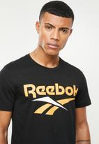 Reebok Classic - Cl v crew neck tee - black