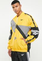 Reebok Classic - Cl v jacket - yellow